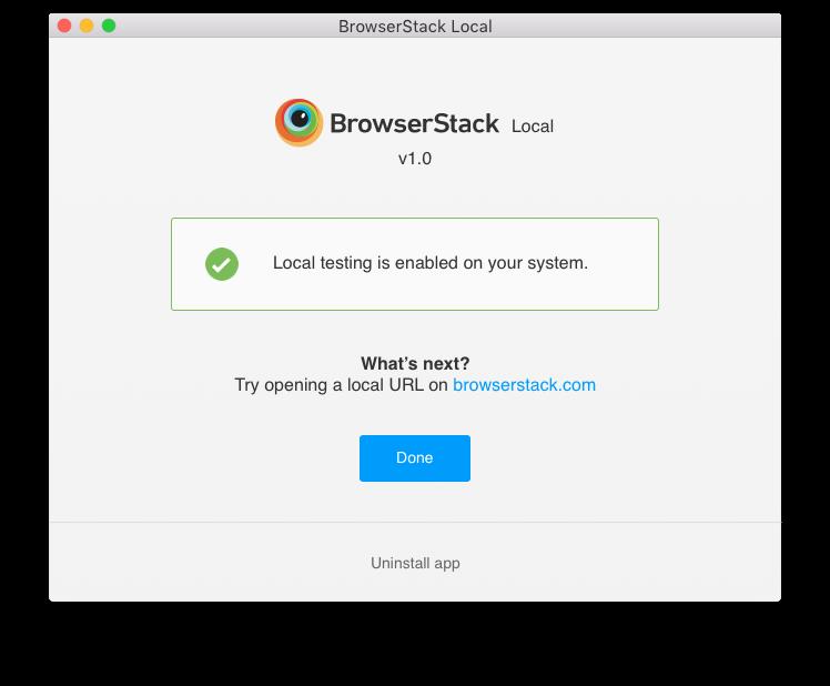 Test Apps & Websites Hosted On Local & Internal Servers