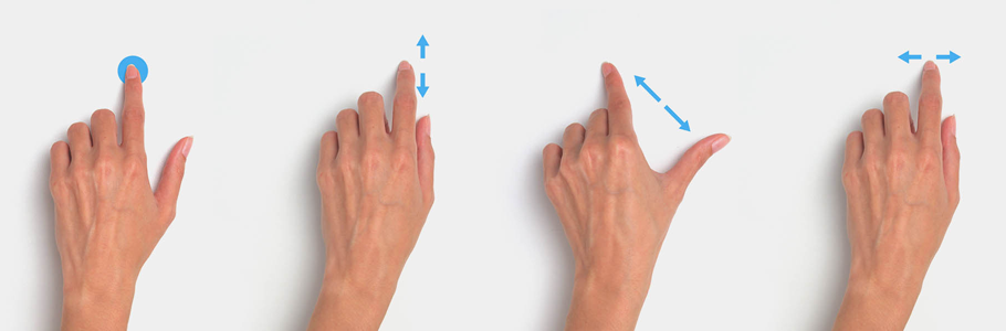 Natural gestures and interaction